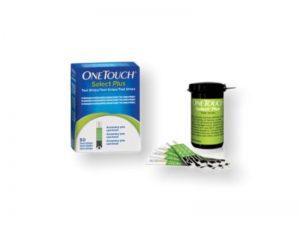 Testovacie prúžky - OneTouch select plus 50 ks