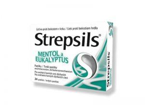 STREPSILS MENTOL A EUKALYPTUS 24KS