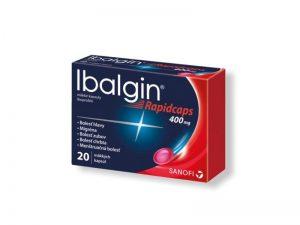 IBALGIN rapidcabs 400 20 mäkkých kapsúl