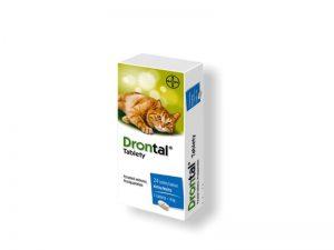 DRONTAL Tablety pre mačky 24 tabliet