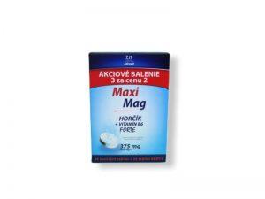 MaxiMag HORČÍK FORTE (375 mg) + VITAMÍN B6