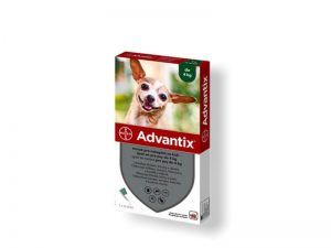 ADVANTIX Spot-on pre psy (do 4 kg) 0,4ml