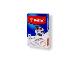 BOLFO Antiparazitný obojok pre mačky a malé psy 38cm