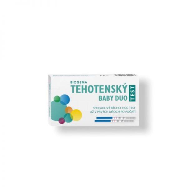 BABY TEST DUO tehotenský test 1x2 ks