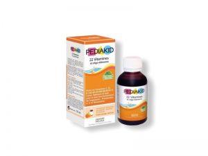 PEDIAKID 22 Vitaminov 125 ml