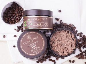 L´Cosmetics cukrový peeling na telo príchuť Káva 260g