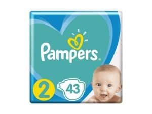 PAMPERS Plienky New Baby-Dry 2 MINI 4-8kg 43ks